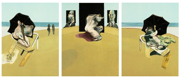 Triptych, Francis Bacon, 1981