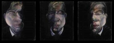Three Studies for a Self-Portrait, Francis Bacon, 1979~1980